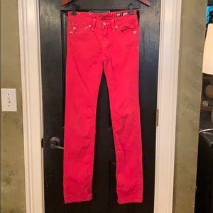 Miss Me red skinny jeans 16